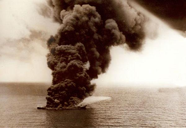 Hundimiento del buque petrolero Potrero del Llano / 13 de Mayo de 1942 .:  Un día en la historia de México