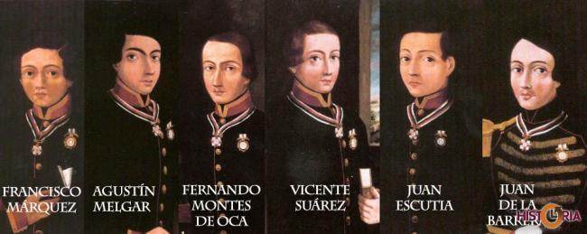 """""""Los niños héroes"""" de Chapultepec"""