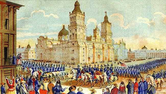 Tropas norteamericanas ocupan la Capital de la República (1847)