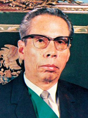 José Gustavo del Santisimo Sacramento Díaz Ordaz Bolaños Cacho (54 vo Presidente de México)