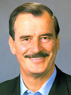 Vicente Fox Quesada (60 vo. Presidente de México)